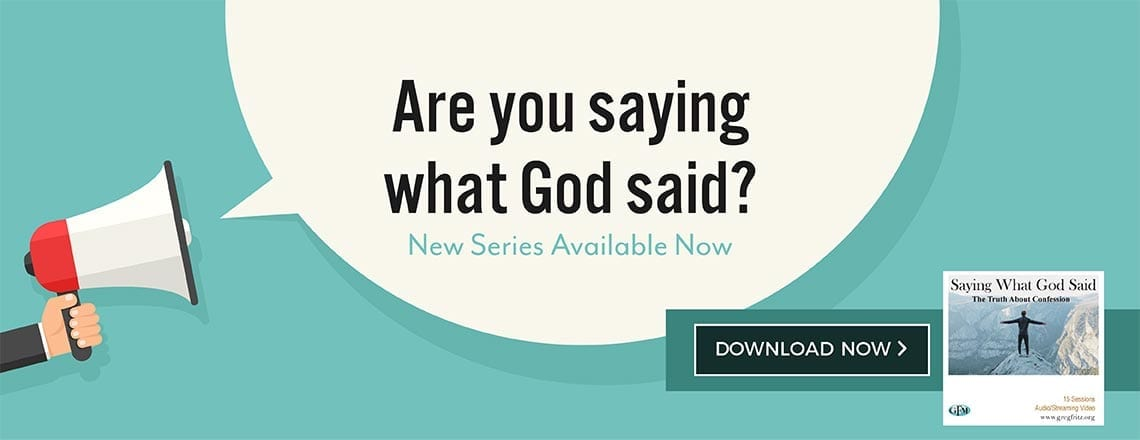 Saying What God Said series - download now